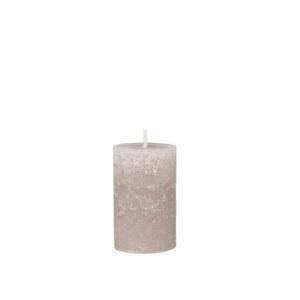vaaleanpunainen kynttilä taupe 16h