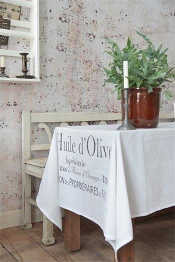huile olive pöytäliina