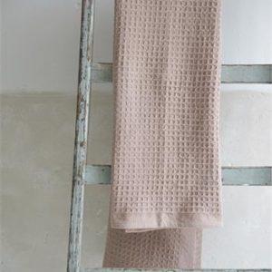 roosa vohvelipyyhe