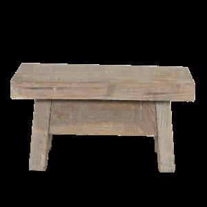 puinen koristejakkara