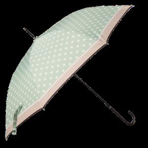 vaalean vihreä sateenvarjo