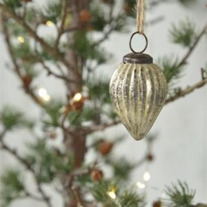jdl lasinen joulukoriste pisara