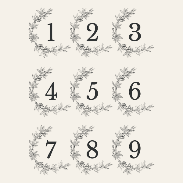 numbers 3